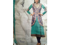 Gorgeous semi stitched gown/ anarkali dresses