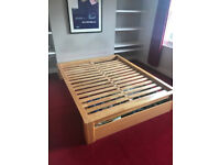 King Size Rubberwood Bed