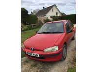 Peugeot 106 diesel for sale. Mot runs out November 2017. Good runner