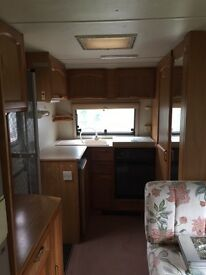 4 Berth Caravan for sale, good condition and ideal for temporary accommodation.
