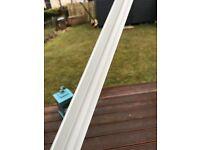 Wet wall internal corner trims WHITE