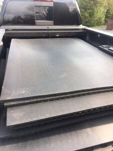 New 4x6 feet and 3/4 inch thick rubber mats