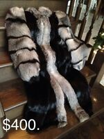 Gorgeous full length fur coat