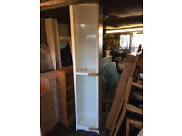Ikea cabinet with glass shelves