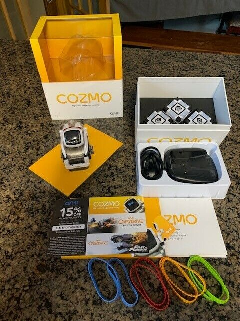 Cozmo Robot by Anki with Colored Tracks Barely Used New Batteries Included