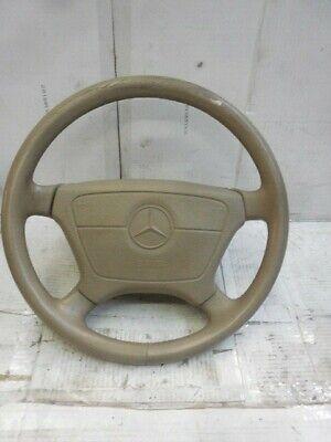 94-99 Fits Mercedes W140 S-Class Tan Beige Steering Wheel, used for sale  East Setauket