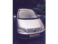 VW Sharan 1.9Tdi 115bhp 7 seater with towbar