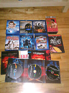 Blu Ray's and DVD