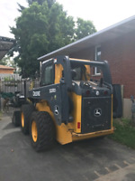 Skid steer for rent - snow removal