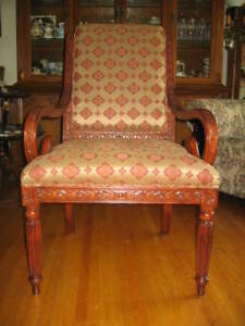 Furniture Art Deco Living Room Chair - $250