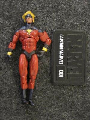"""Marvel Legends Universe 3.75"""" loose AF Captain Marvel Hasbro"""