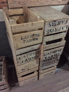 Old Wooden Crates for sale $15 each and up