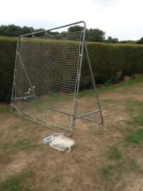 Tennis rebound net, 2.7 x 2.2 metres, (spare net and new bungee ropes inc) £55 ono