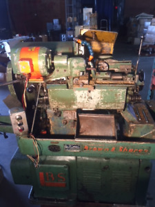 Brown and Sharpe Screw Machines and Related Equipment