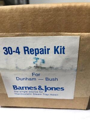 Barnes Jones 30-4 Dunham Busch 1 30psig Steam Trap Repair Kit - New In Box