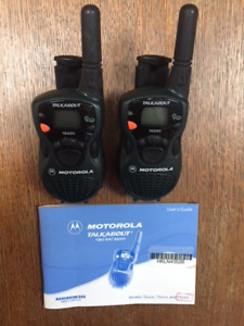 Motorola Talkabout Two-Way Radio (Brand-New)
