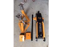 TROLLEY JACK 2 TONNE & AXLE STANDS