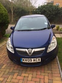 Well maintained Vauxhall Corsa (2009) Diesel Car, 93K milieage