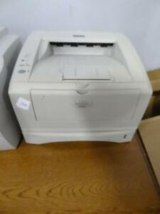 Printers available – pickup required.