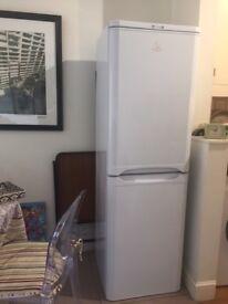Indesit Fridge Freezer - White - A+ Rated.