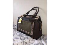 Brand NEW Khaki River Island Handbag Open to Offers