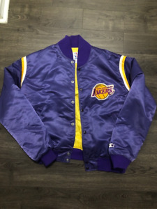 Starter Vtg Los Angles Lakers Satin Jacket