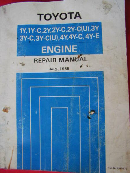 Toyota hiace 1982 1986 workshop manuals body and 3 4y engine 1 of 8 fandeluxe Images