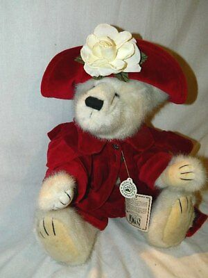 vintage Boyd's Bear Francesca LaFlame jointed teddy bear tags 912026 archive