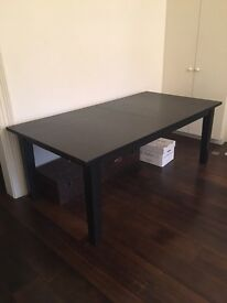 A large Ikea dinning table - Hardly used It was £300. NOW £30!