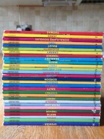 set of Thomas the tank engines books