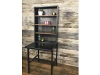 Industrial Shelving from French Postal Office Kitchen Storage or Hall Stand