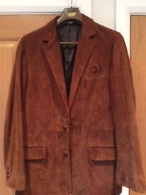 Mens Orvis Nubuck Jacket