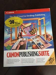 Canon Publishing Suite