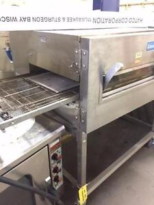 "LINCOLN PIZZA OVEN, GAS , SINGLE DECK, 18"" BELT    ***90 DAY WARRANTY"