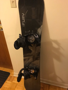 LTD Fury 151 Snowboard with Ride bindings & MORE - Only $140!!