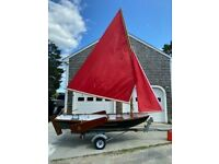13 ft Vintage Day sailer. Totally Restored ready to sail. Excellent Condition