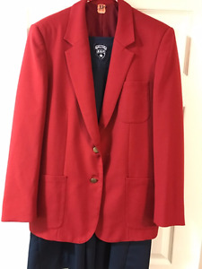 Kings Edgehill School Red Blazer and Navy Tunic