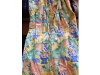 Two Large Pairs Designers Guild Curtains