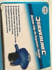 21mm Clip On Butane Regulator for Gas BBQ