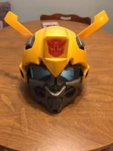 Transformers Bumblebee Role Play Helmet and Plasma Hand Blaster