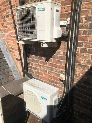 6 Daikin And Mitsubishi Air Conditioning Units