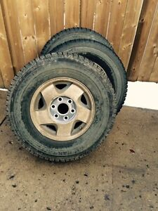 Like New 245/75 R16 Winter Tires and Rims