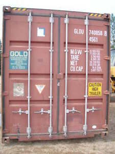 40 ft HC Shipping Container