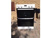 White double oven for sale in excellent condition.