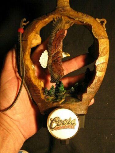 beer tap handle golden eagle coors original