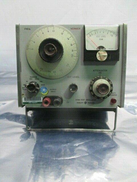 HP 208A Test Oscillator, 453606