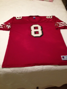 Steve Young #8  San Francisco 49's Jersey
