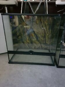 Reptile Terrariums, Like New condition.