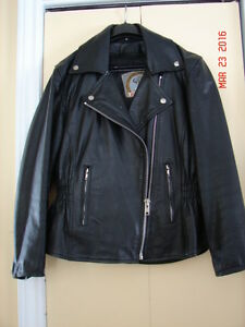 Ladies Size Small Leather Motorcycle Suit