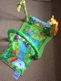 Fisher price rainforest 123 musical gym